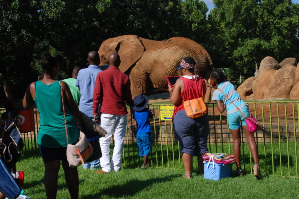 National botanical and zoological gardens remain open